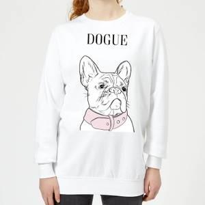 Dogue Women's Sweatshirt - White