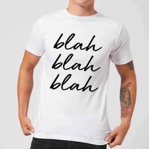Blah Blah Blah Men's T-Shirt - White