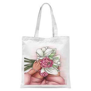 Flowers Tote Bag - White