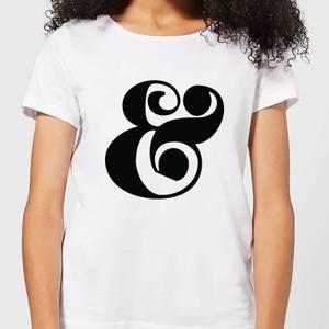 Candlelight & Symbol Women's T-Shirt - White