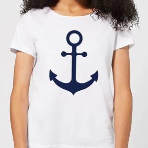 Candlelight Anchor Women's T-Shirt - White