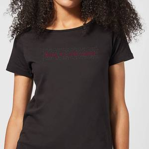 Candlelight Baby It's Cold Outside Women's T-Shirt - Black