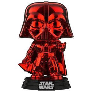 Star Wars Darth Vader Red Chrome EXC Pop! Vinyl Figure