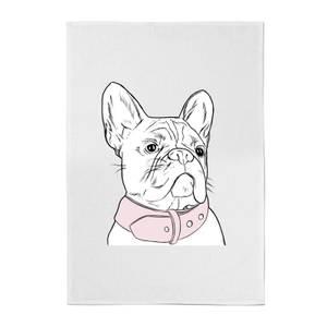 Frenchie Cotton Tea Towel