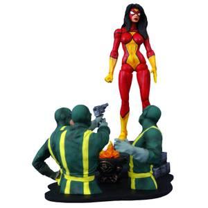 Diamond Select Marvel Select Action Figure - Spider-Woman