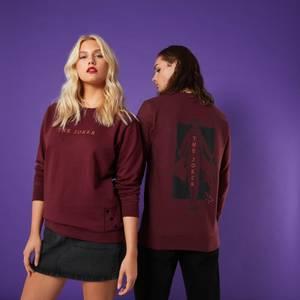 Heart Of The Fool Unisex Sweatshirt - Burgundy