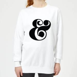 Candlelight & Symbol Women's Sweatshirt - White