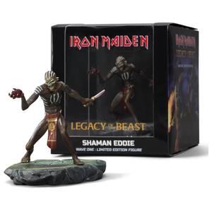 Iron Maiden Legacy of the Beast - Shaman Eddie Figure