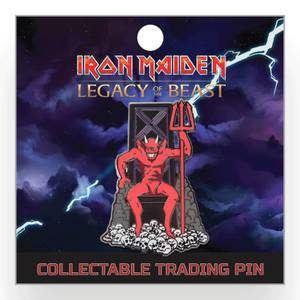 "Spilletta di Eddie la bestia, da ""Legacy of the Beast"", Iron Maiden"