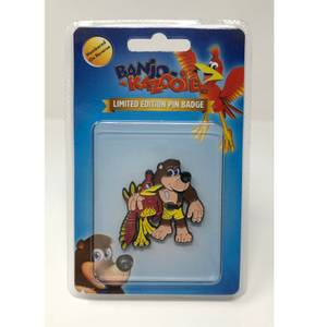 Banjo Kazooie Limited Edition Pin Badges