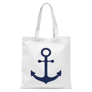 Anchor Tote Bag - White