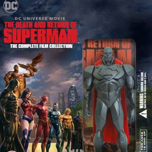 The Death and Return of Superman Limited Edition Figurine Gift Set