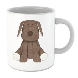 Brown Dog Teddy Mug