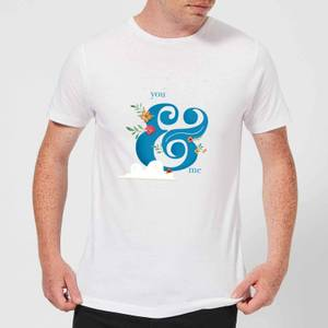 You & Me Men's T-Shirt - White