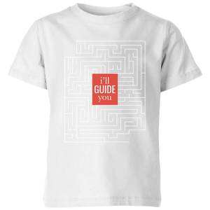I'll Guide You Kids' T-Shirt - White