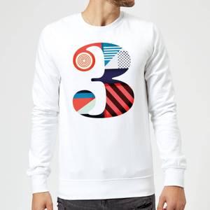 3 Sweatshirt - White