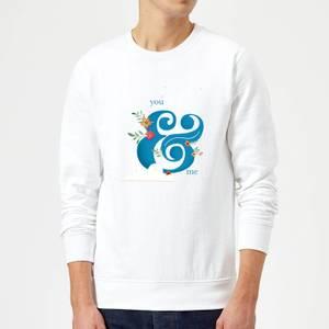 You & Me Sweatshirt - White
