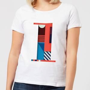 1 Women's T-Shirt - White