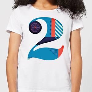 2 Women's T-Shirt - White