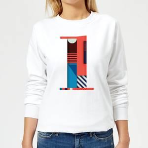 1 Women's Sweatshirt - White