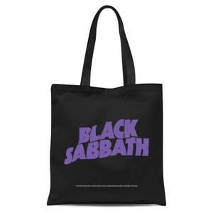 Black Sabbath Tote Bag - Black