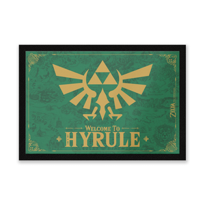 Paillasson Welcome To Hyrule Nintendo
