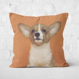 Cute Corgi Square Cushion