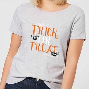 Trick Or Treat Women's T-Shirt - Grey