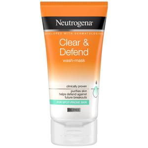 Neutrogena Clear and Defend 2 in 1 Wash Mask 150ml