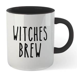 Witches Brew Mug - White/Black