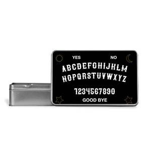 Ouija Board Metal Storage Tin
