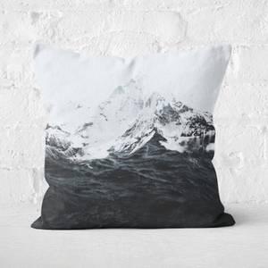 Those Waves Were Like Mountains Cushion Square Cushion