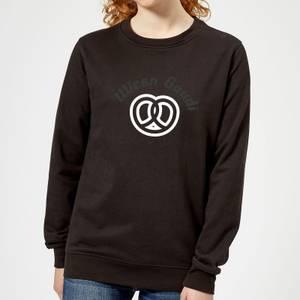 Oktoberfest Wiesn Gaudi Women's Sweatshirt - Black