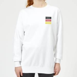 Oktoberfest Prost Women's Sweatshirt - White