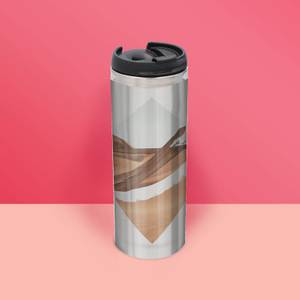 Strange Waves Thermo Insulated Travel Mug