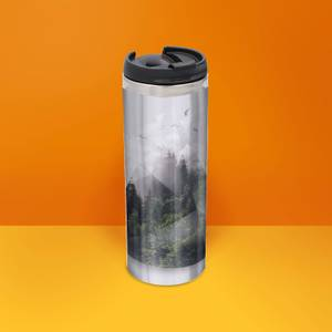 Forest Triangle Thermo Insulated Travel Mug