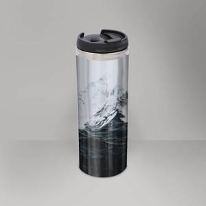 Those Waves Were Like Mountains Thermo Insulated Travel Mug