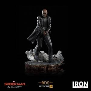 Iron Studios Spider-Man: Far From Home BDS Art Scale Deluxe Statue 1/10 Nick Fury