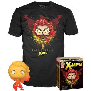 Marvel X-Men Dark Phoenix EXC Funko Pop! and Tee Bundle