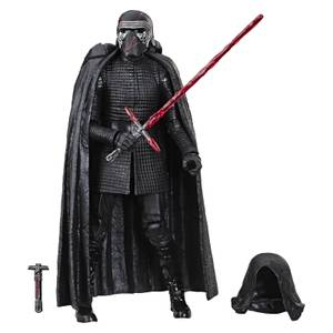 Action figure del Leader Supremo Kylo Ren, da Star Wars: L'ascesa di Skywalker, The Black Series - Hasbro - 15 cm