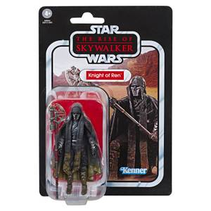 Hasbro Star Wars: The Rise of Skywalker The Vintage Collection Knight of Ren (Long Axe) 3.75 Inch Action Figure