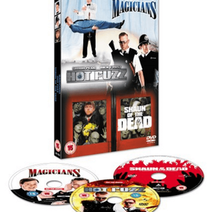 Shaun Of The Dead/Hot Fuzz/The Magicians