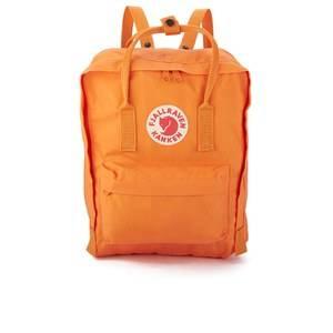 Fjallraven Men's Kanken Backpack - Burnt Orange/Deep Red
