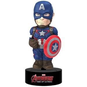 NECA Marvel Avengers Age of Ultron Capitaine America Body Knocker