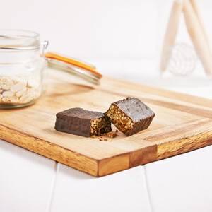 Schokolade & Karamell Riegel