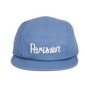 Maison Kitsuné Men's 5P Parisien Cap - Blue