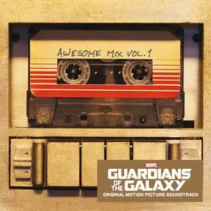 BO Vinyle Gardiens de la Galaxie Awesome Mix - Vol. 1 - Bande Originale (1LP) Vinyle Noir