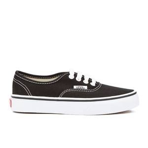 Vans Kids' Authentic Trainers - Black/True White