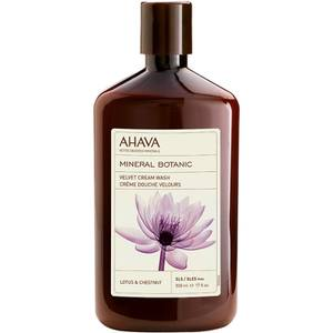 AHAVA Mineral Botanic Velvet Cream Wash - Lotus Flower and Chestnut 500ml