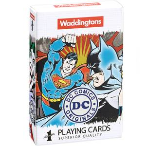 Waddingtons Number 1 Playing Cards - DC Superheroes Edition